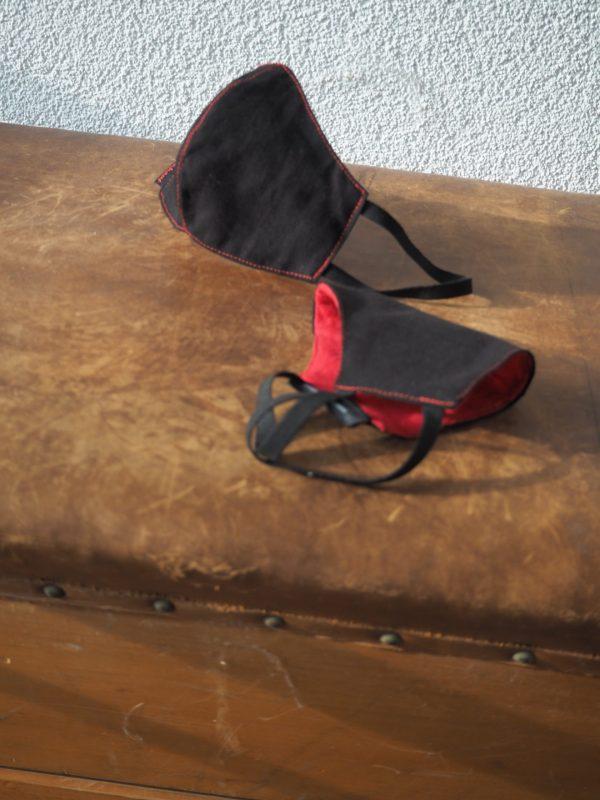 Designer Mundschutz Nasenschutz Maske aus edlem Leinen – Made in Germany