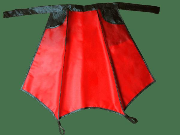 Rote Drachenhaut